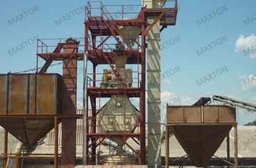 Maxton's dry compaction granulation system