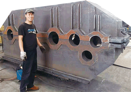 mechanical manufactuering engineer and the unfinished reducer