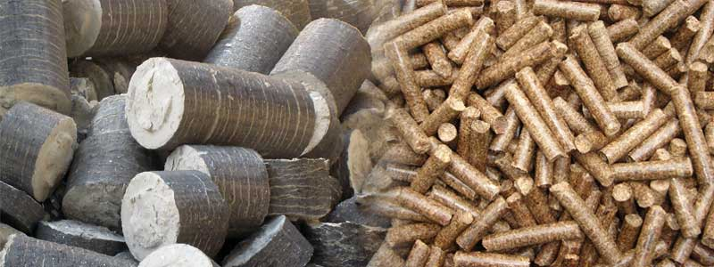 bio coal briquette and pellet