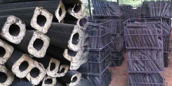 screw briquettes and the deep processing charcoal