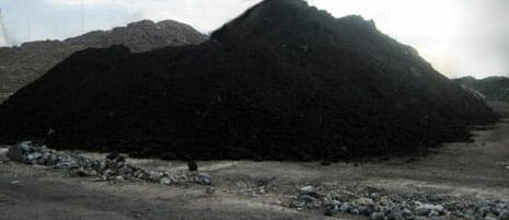 sludge from steel plant