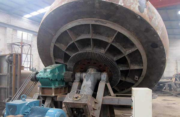 unpainted disc pelletizer